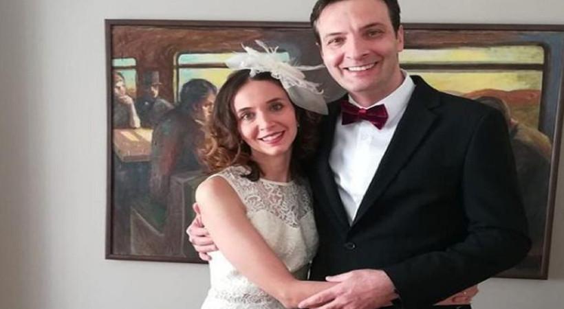 Medcezir oyuncusu evlendi