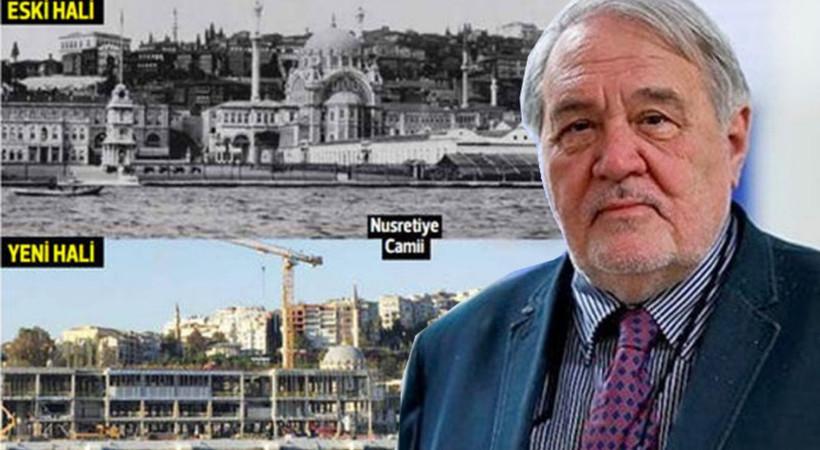 Prof. Dr. İlber Ortaylı: İstanbul'un Tophane kıyısı rezalet, Mimar Sinan'dan daha büyük adamlar mısınız?