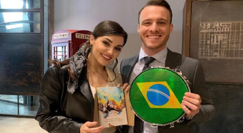 Hande Erçel ve Kerem Bürsin'e Brezilya'dan sürpriz!