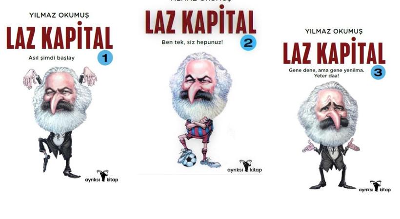 Laz Kapital kitabı için eğlenceli animasyon