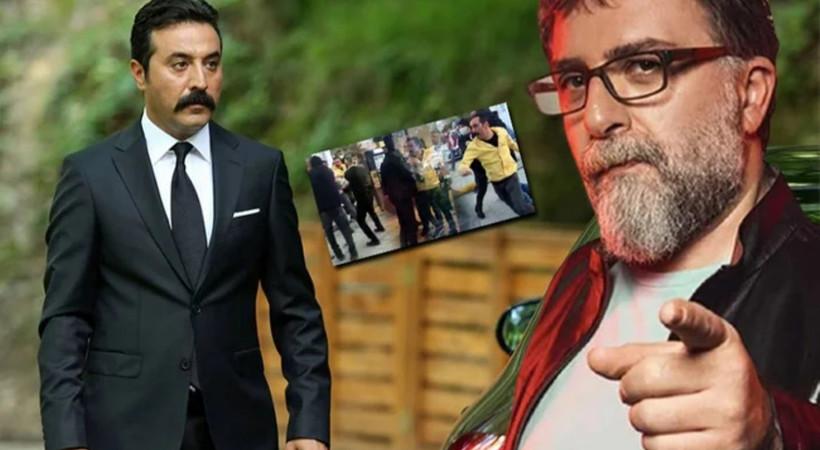 Ahmet Hakan'dan Mustafa Üstündağ'a sert sözler: 'Nalet olsun içindeki magandaya'
