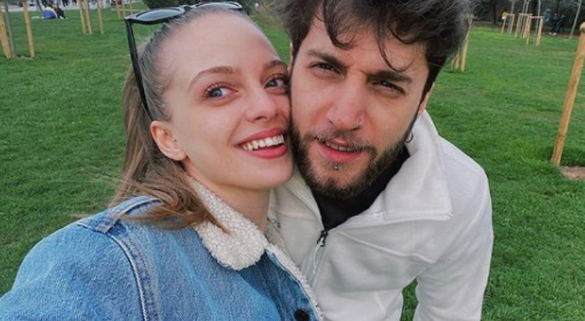 Genç oyuncu İpek Filiz Yazıcı, Ufuk Beydemir'le aşk iddialarını doğruladı
