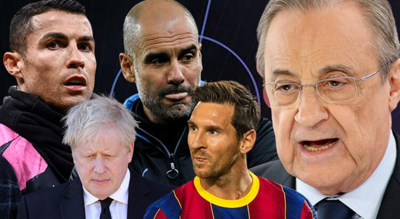 Avrupa futbolunda dev kriz! Süper Ligi resmen açıklandı ve savaş başladı!
