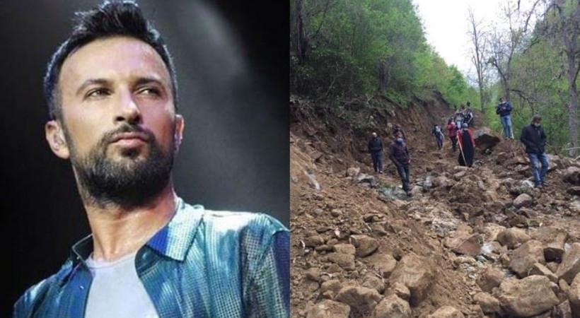 Tarkan'dan Rize İşkencedere'deki direnişe destek: Acılı feryadınızı duyuyorum