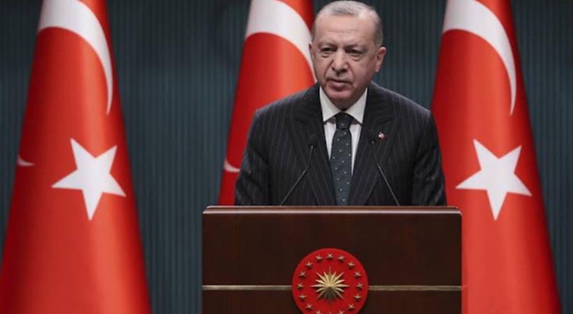 Erdoğan kabine toplantısı sonrası açıkladı: Üç hafta tam kapanma