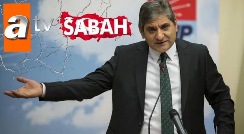 CHP'li Aykut Erdoğdu'dan flaş şantaj iddiası: 'Sabah ve atv'de çalışan muhabirler...'