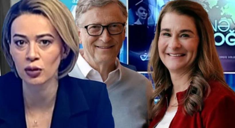 Azeri spikerin Bill Gates sözleri sosyal medyada olay oldu!