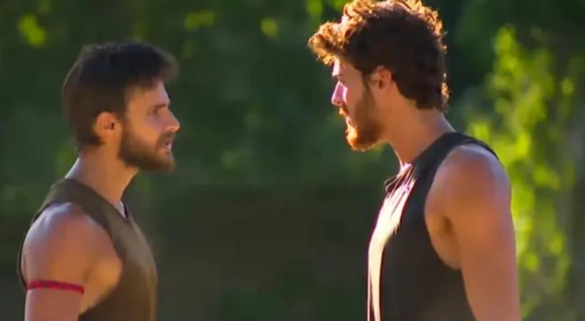 Survivor'da Batuhan ve Poyraz birbirine girdi! Acun Ilıcalı'dan tepki