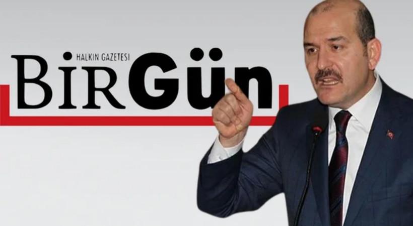 BirGün'den Bakan Soylu'ya sert yanıt!: 'Rahatsız oluyorsa iyi yoldayız demektir'