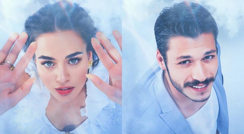 Bensu Soral ve Kubilay Aka'yı buluşturan Cam Tavanlar dizisinin teaser afişleri görücüye çıktı