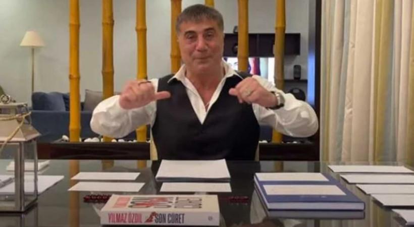 Sedat Peker 6'ncı videoyu yayınladı! Dikkat çeken Yılmaz Özdil detayı