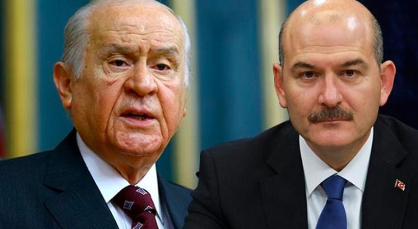 Devlet Bahçeli'den İçişleri Bakanı Süleyman Soylu'ya destek!