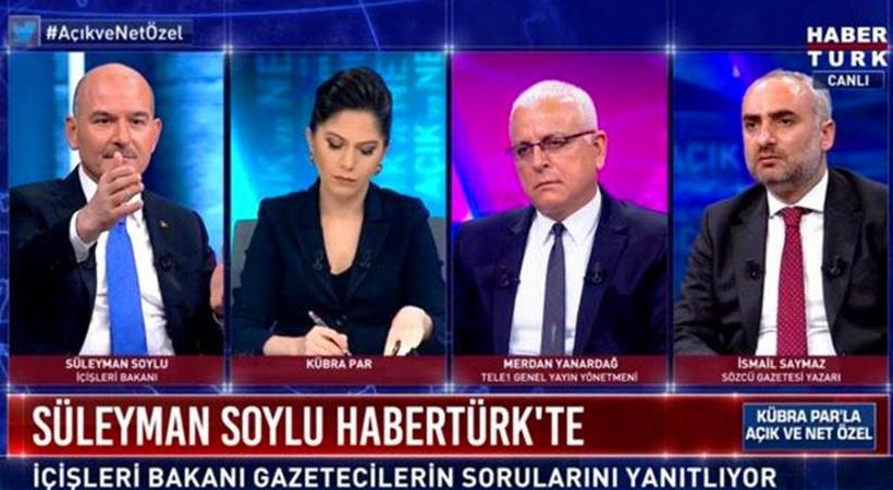Cengiz Semercioğlu, Bakan Soylu'nun Habertürk yayınını kaleme aldı: 'İçerik olarak değil ama rating olarak tarihe geçti'