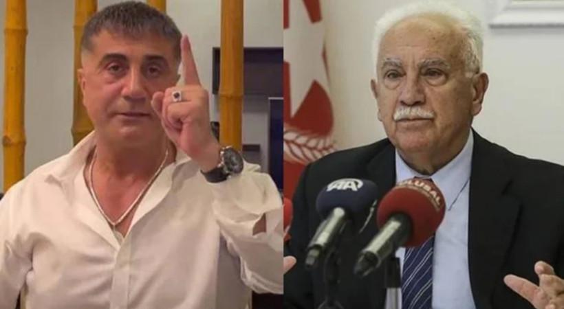 Sedat Peker'den Doğu Perinçek'in 'Peker Mossad'ın avucunda' sözlerine yanıt!