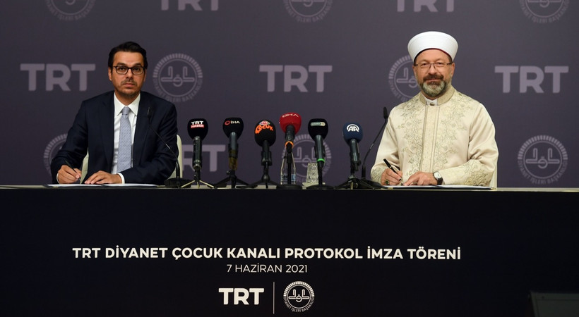 TRT Diyanet Çocuk kanalı için ilk adım atıldı