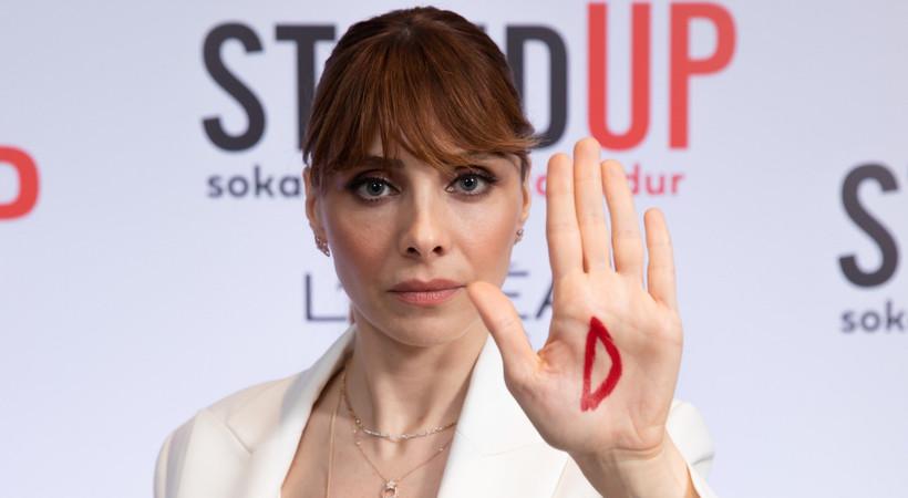 Nur Fettahoğlu ve L'oréal Paris'ten sokak tacizine karşı 5D hareketi!