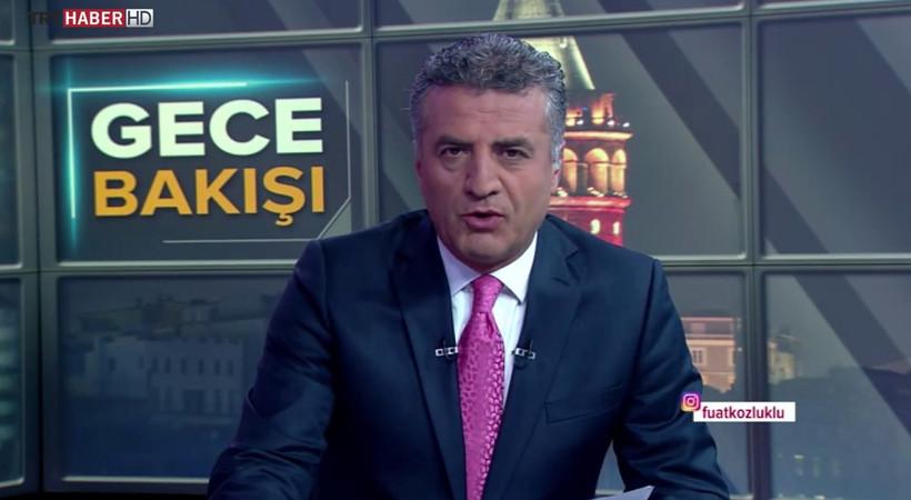 Gazeteci Cengiz Semercioğlu, TRT sunucusu Fuat Kozluklu'ya ateş püskürdü...