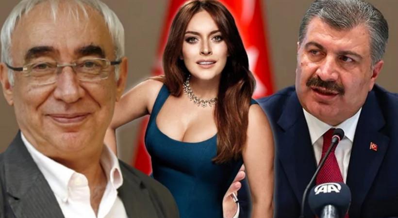 Bakan Koca'dan Şener Şen ve Ezgi Mola sürprizi! 'Sağlığımız için kolları sıvayalım'