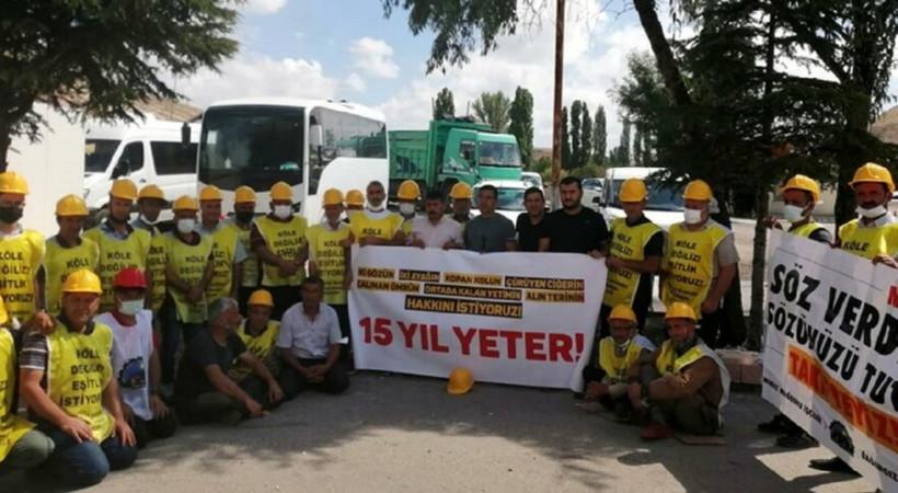 Haklarını aramak için Ankara'ya giden maden işçileri trafik kazası kurbanı oldu!