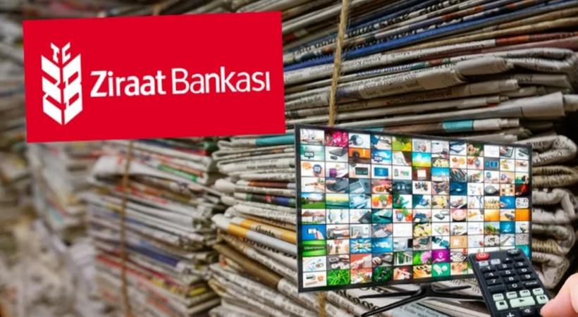 Ziraat Bankası hangi gazete ve TV kanallarına reklam yağdırdı? MHP ayrıntısı dikkat çekti!