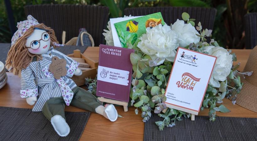 Yves Rocher Vakfı desteği ile büyüyen 'Puduhepa ve Kız Kardeşleri' projesi doğadan ilham alan yeni bebeğiniBodrum'da tanıttı!