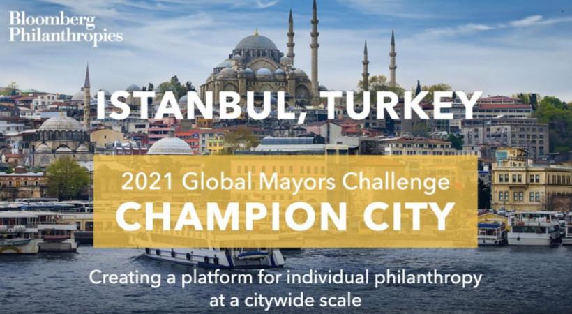 """Bloomberg Philanthropies'in """"en cesur şehir girişimlerini"""" seçtiği '50 Şampiyon Şehir'listesine""""Askıda Fatura"""" kampanyasıyla İstanbul da seçildi."""