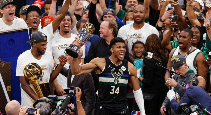 NBA'de şampiyon Milwaukee Bucks!