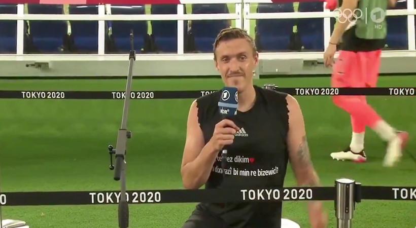 Fenerbahçe'nin eski futbolcusu Max Kruse, Kürt kız arkadaşına Tokyo'dan canlı yayında evlilik teklif etti...