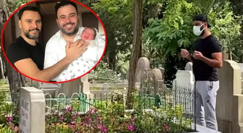 Alişan'ın kardeş acısı! Coronavirus nedeniyle hayatını kaybeden Selçuk Tektaş'ın mezarını her gün ziyarete gidiyor...