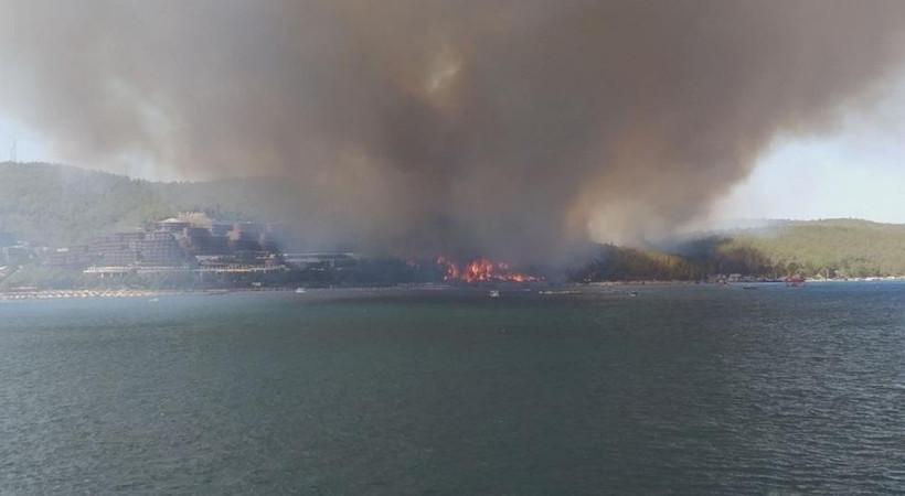 Türkiye alev alev! Yangın fırtınası Kütahya, Alanya, Didim ve Bodrum'a da sıçradı