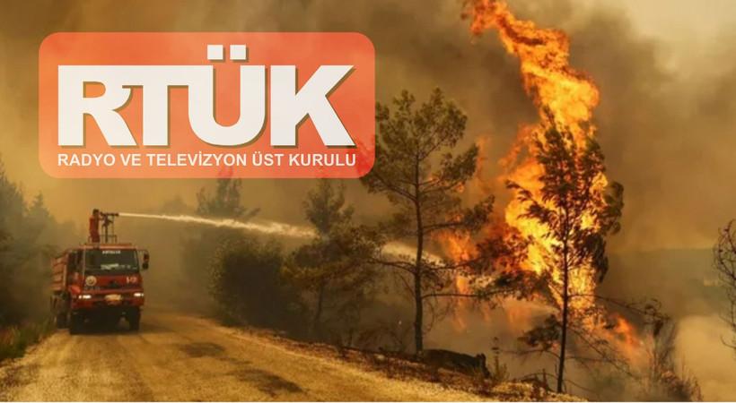 RTÜK'ten kanallara 'yangın' yasağı!