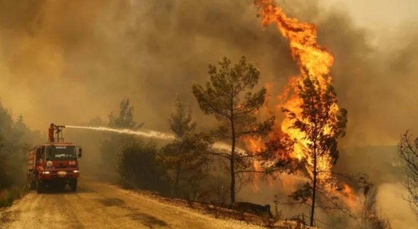TSK yangınlar için devreye giriyor!
