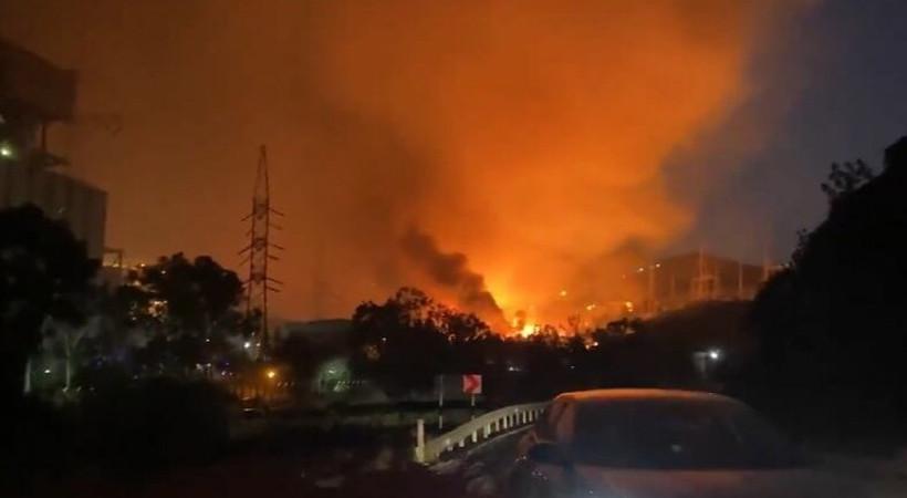 Alevler termik santrale ulaştı! Ören tahliye ediliyor