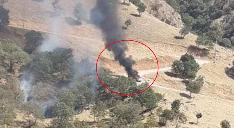 MİT paylaştı, PKK'lılar böyle vuruldu