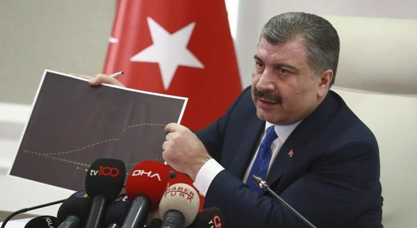 Sağlık Bakanı Fahrettin Koca, haftalık vaka haritasını açıkladı... İstanbul, Ankara ve İzmir'de son durum