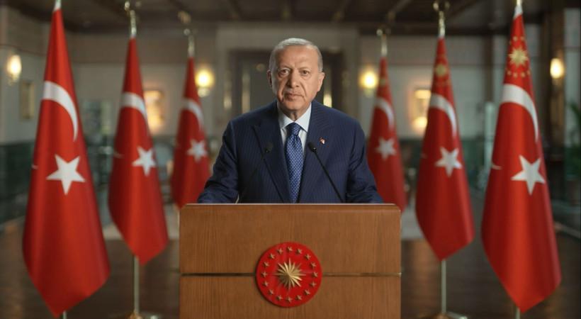 Cumhurbaşkanı Erdoğan 'Bakü'nün kurtuluş yıl dönümünü kutladı