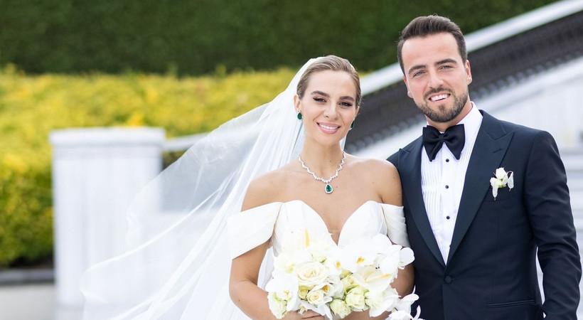Melih Mahmutoğlu ile Damla Çakıroğlu evlendi