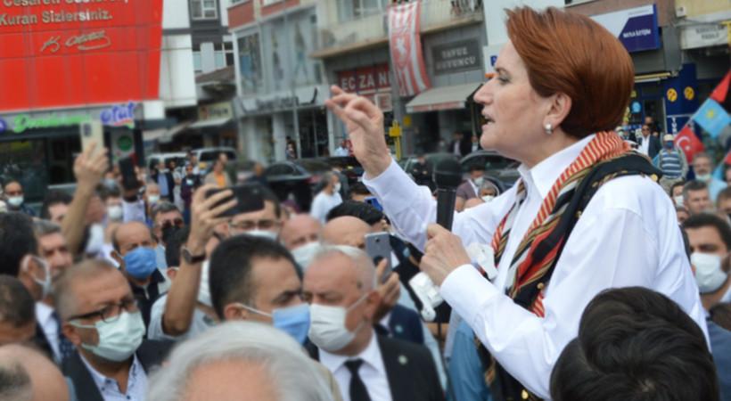 Meral Akşener Artvin ziyaretinde erken seçim için tarih verdi: 2022'de bir seçim olabilir