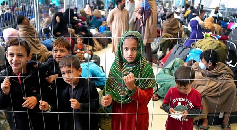 3 yaşındaki Afgan çocuk tek başına Kanada'ya iltica etti