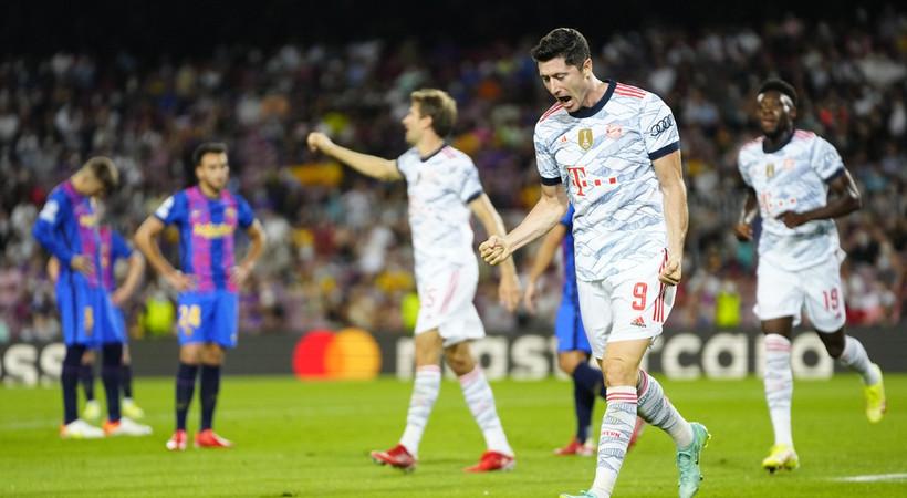 Barcelona 0-3 Bayern Münih MAÇ ÖZETİ İZLE