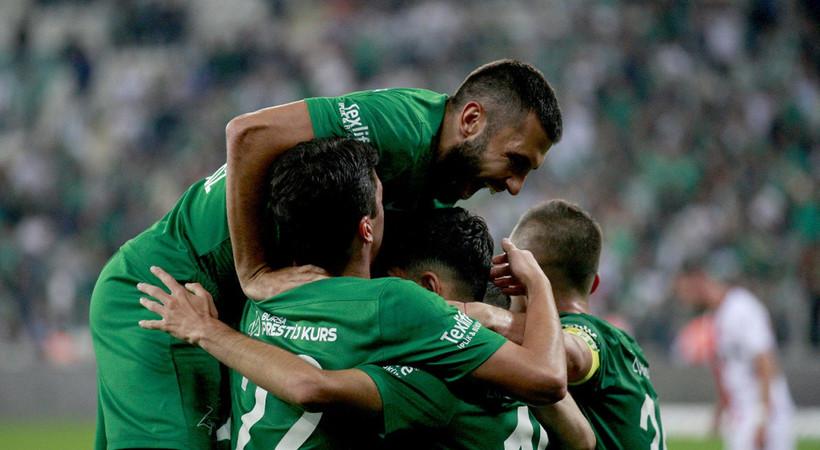 Bursaspor 4-1 Samsunspor MAÇ ÖZETİ