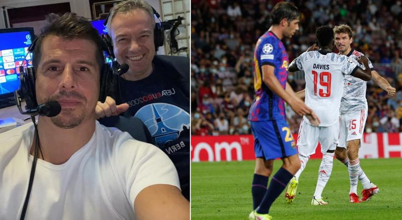 Barcelona-Bayern maçına damga vuran Emre Belözoğlu'ndan paylaşım