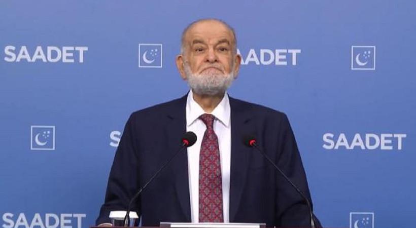 Saadet Partisi Genel Başkanı Temel Karamollaoğlu iktidarı eleştirdi: Okulları açtılar ama yüz yüze eğitimde tutarsızlık var