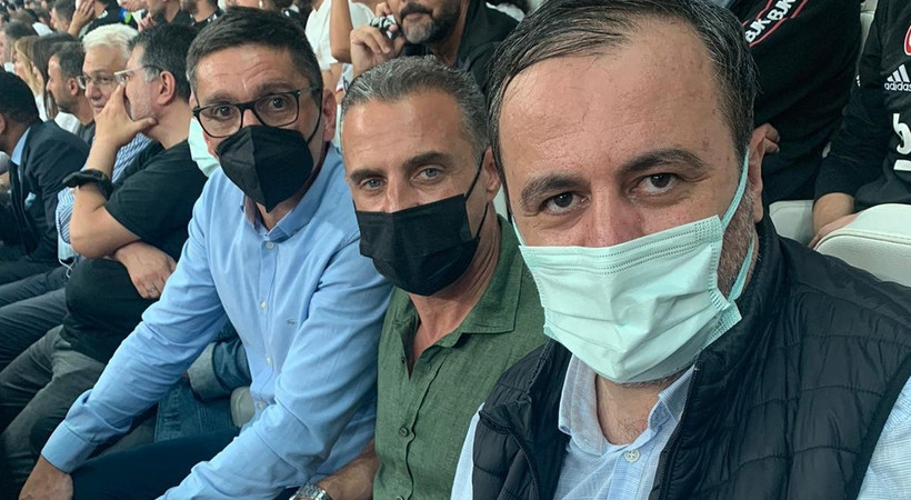 Beşiktaş-Dortmund maçının sürpriz misafirleri vardı