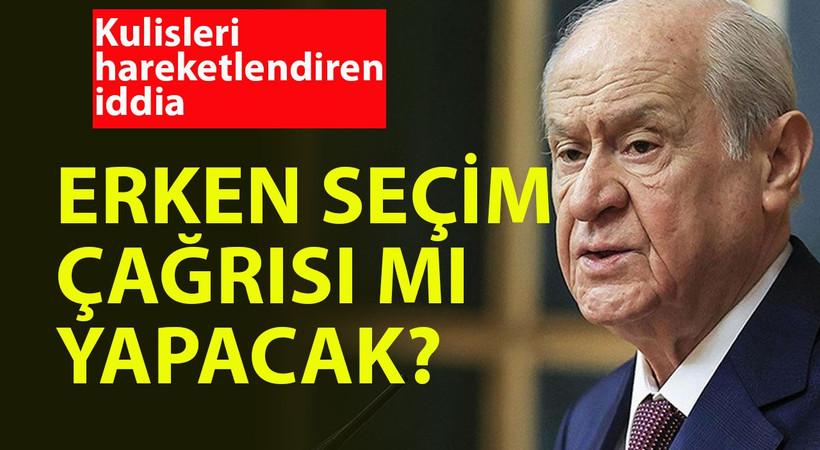 FLAŞ! Devlet Bahçeli erken seçim çağrısı mı yapacak? Gazeteci Fehmi Koru'dan çok tartışılacak değerlendirme