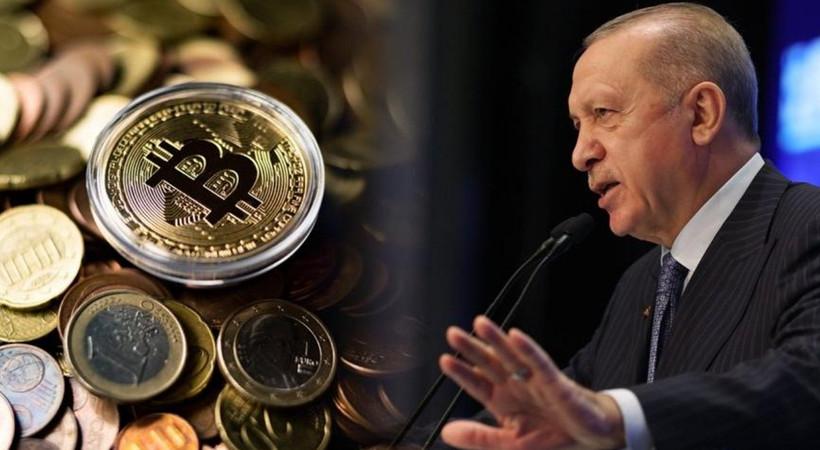 Cumhurbaşkanı Erdoğan'dan flaş kripto para açıklaması!