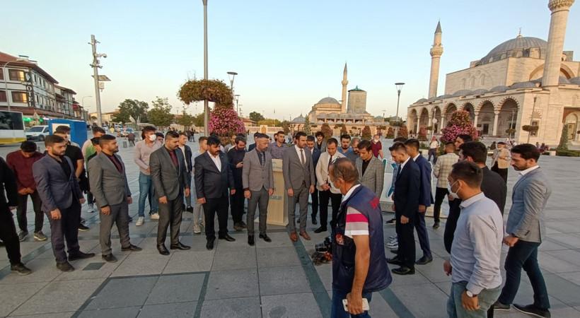 Ülkü Ocakları Konya'dan CHP'ye semazen tepkisi: CHP Belediyelerinin semazenleri soktuğu durum korkunç