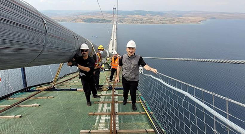 Çanakkale Köprüsü'nün geçiş ücreti belli oldu: 15 Euro...