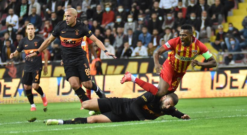 Kayserispor 3-0 Galatasaray MAÇ ÖZETİ İZLE