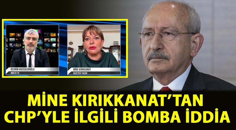 """Mine Kırıkkanat CHP ile ilgili bombayı patlattı! Kırıkkanat, """"Yandaş basının elinde Kılıçdaroğlu ve ekibiyle ilgili kapsamlı bir dosya var"""" dedi ve ekledi: Başım derde girebilir"""